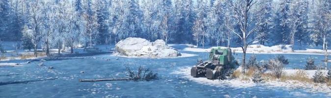 Скриншоты с карты Аляска в игре СноуРаннер
