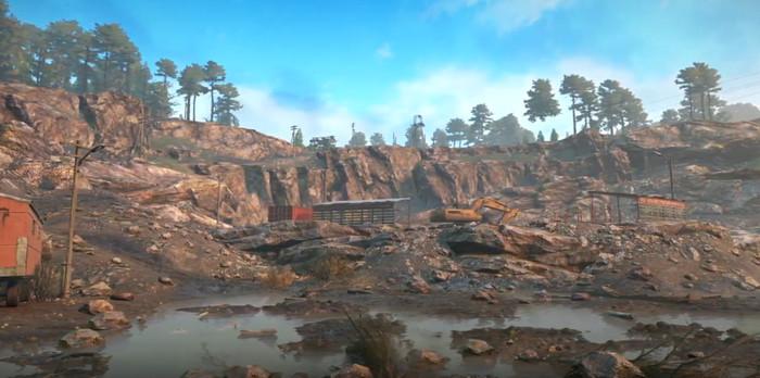 Фото с карты Таймыр в игре SnowRunner