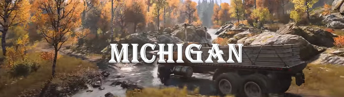 обзор Мичигана из SnowRunner
