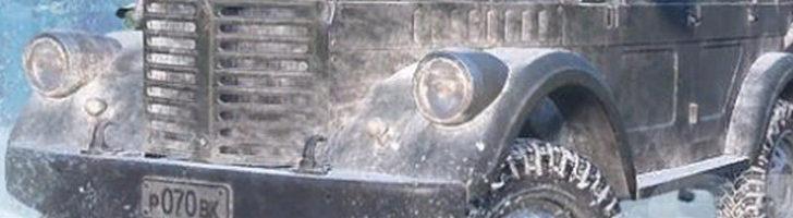Фары и бампер TUZ 166 в игре SnowRunner