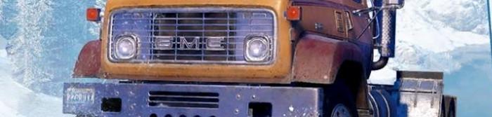 Передняя часть авто в игре SnowRunner