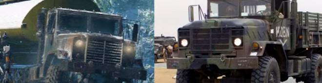Сравнение грузовиков ANK Mk. 38 и М939