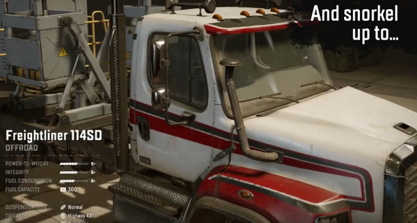 Модернизация шноркеля в SnowRunner на грузовике