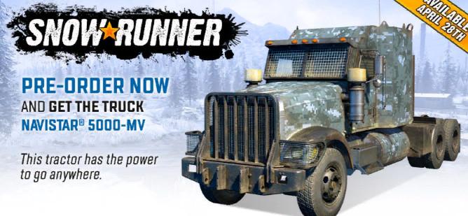 Фото тяжелого грузовика для игры SnowRunner