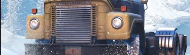 Фары и передняя часть в игре SnowRunner