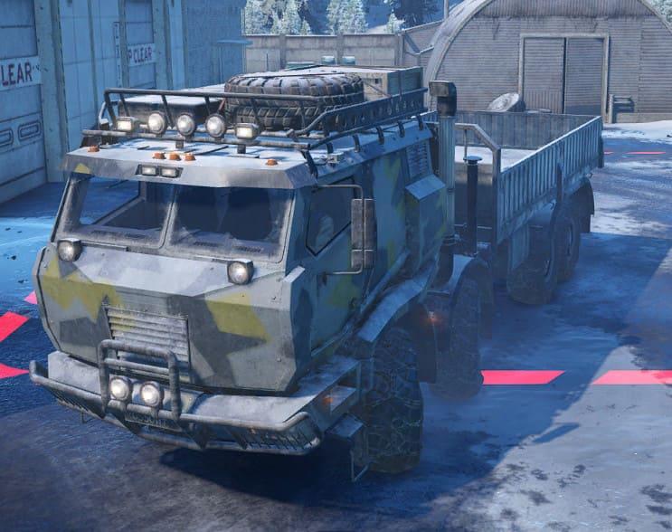 Фото обновленного грузовика в игре