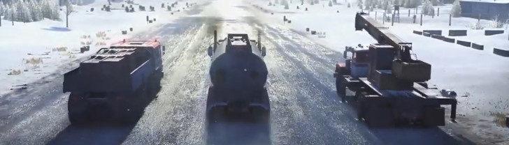 Опасные ситуации и тяжелые дороги игры SnowRunner