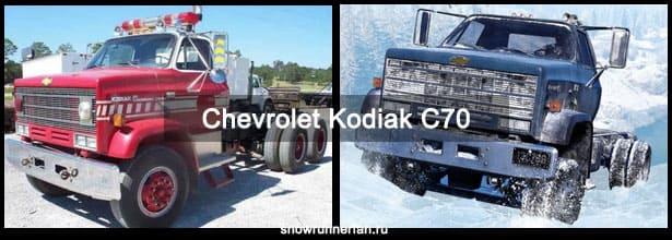 Chevrolet Kodiak C70 игровой и настоящий - сравнение