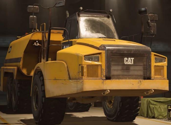 Caterpillar 745C SnowRunner фото