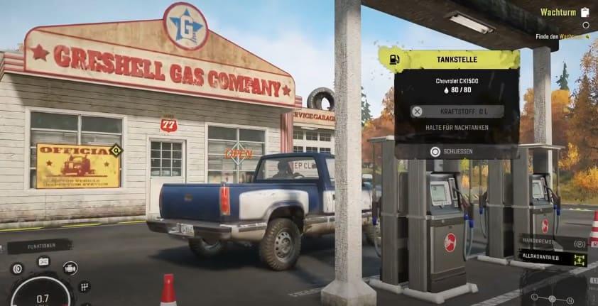 Grishell Gas Company в SnowRunner