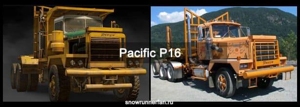 Игровой и настоящий Pacific P16