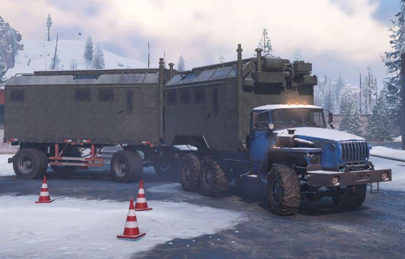 Урал 432031 с куном