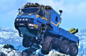 Фото грузовика Азов из игры Сноураннер
