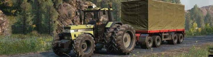 Трактор Case 1455 XL