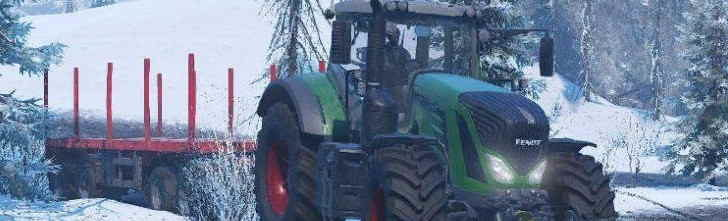 Трактор Fendt 930