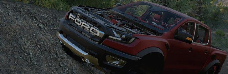 Ford Ranger Raptor в игре SnowRunner