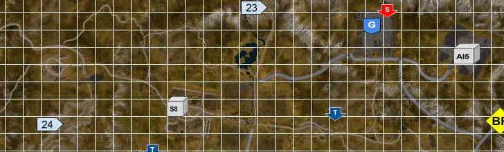 Карта объектов в SnowRunner