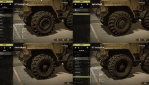 KrazChaborz варианты колес для машины в snowrunner