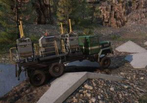 Улучшения подвеска на грузовике