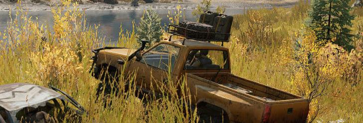 Скриншот из игры Сноураннер No dark Night, No fog переезд через высокую траву.