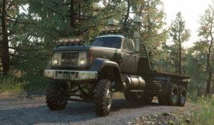GMC Custom AWD с обновленным светом и колесами