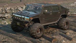 Скриншот из игры Сноураннер Hummer H2 emils 3 обзор машины.