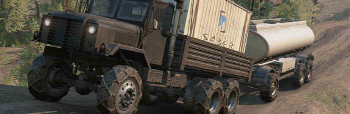 Улучшенный грузовик Ank MK38 от Emil's