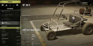 Багги Yerf Dog 3203 в гараже