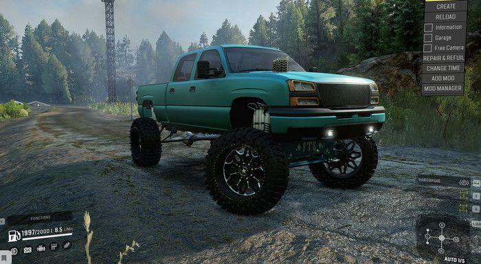Frog's 2007 Chevy Silverado