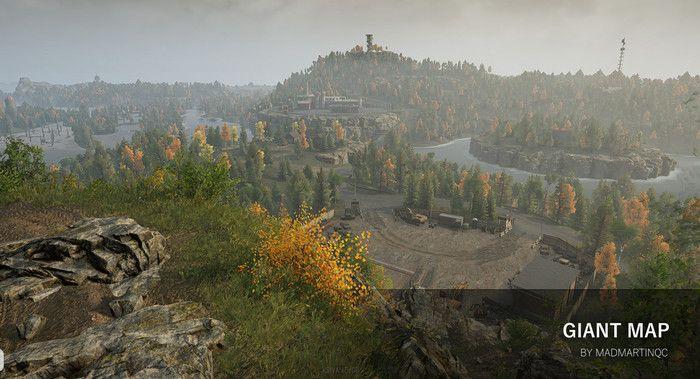 Вид карты