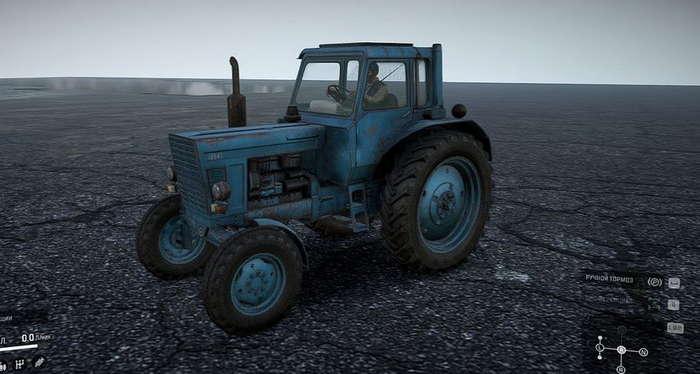 Скриншот из игры Сноураннер Трактор МТЗ-80 обзор трактора