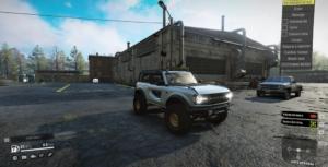 Форд бронко вид снаружи