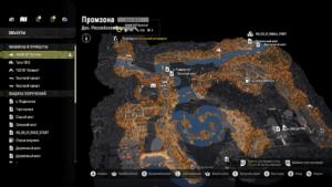 Карта Промзона
