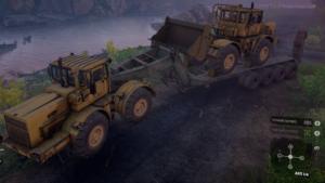 KMX 700 С грузовым прицепом