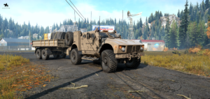 RNG MPV С грузовым прицепом
