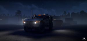 RNG MPV Вид ночью