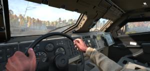RNG MPV Вид в кабине