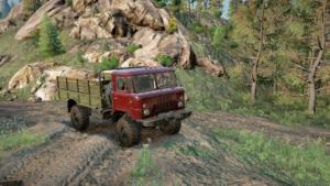Шишига (ГАЗ-66) Окрас Красный