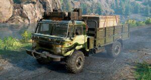 Шишига (ГАЗ-66) Вид с грузом