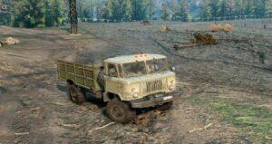 Шишига (ГАЗ-66) Окрас Бежевый