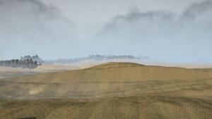Карта Черные пески Долина