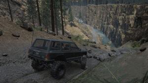 Национальный парк Секвойя Спуск в речной каньон
